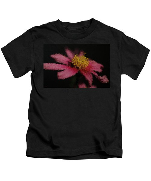 Midnight Bloom Kids T-Shirt