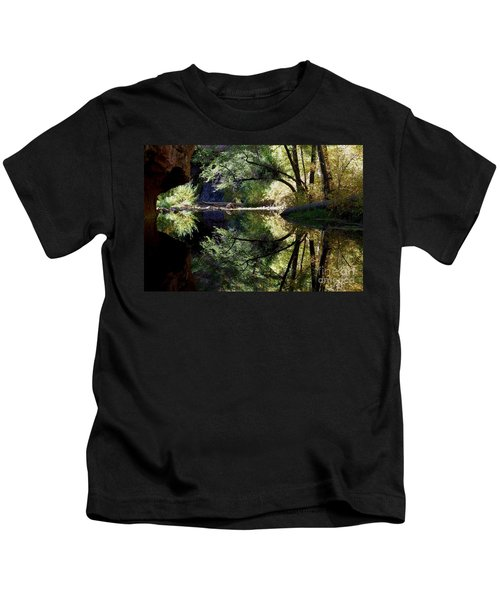 Mirror Reflection Kids T-Shirt