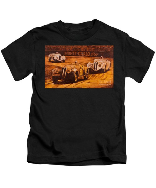 Monte-carlo 1937 Kids T-Shirt