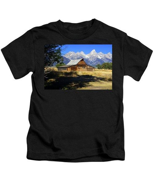 Mormon Row Barn Kids T-Shirt