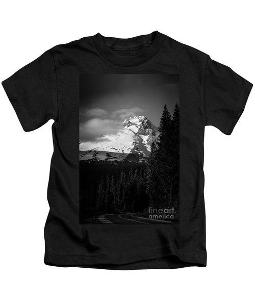 Mount Hood Hwy 26 2 Kids T-Shirt