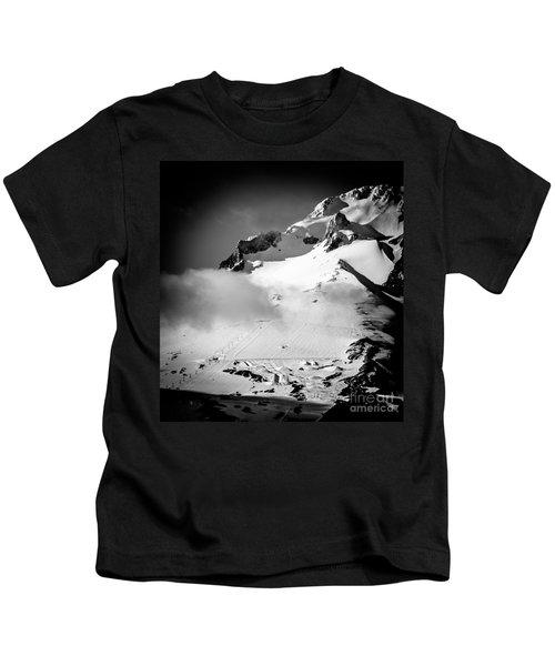 Mount Hood Palmer Glacier Kids T-Shirt