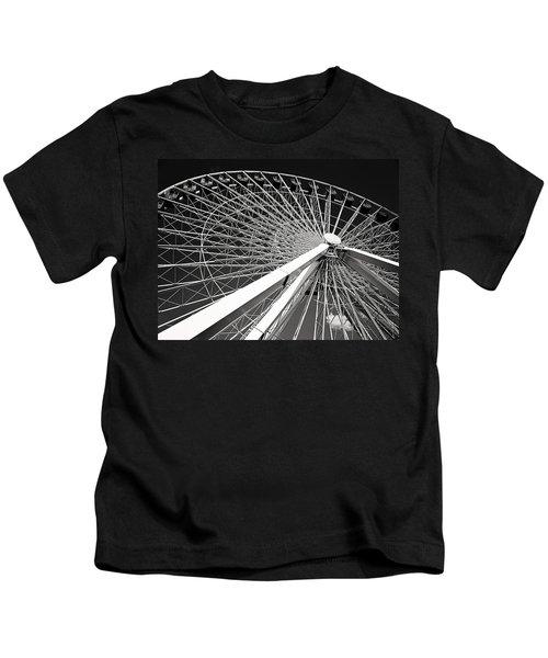 Navy Pier Ferris Wheel Kids T-Shirt