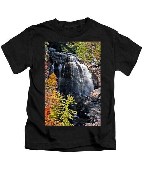 Whitewater Falls Kids T-Shirt