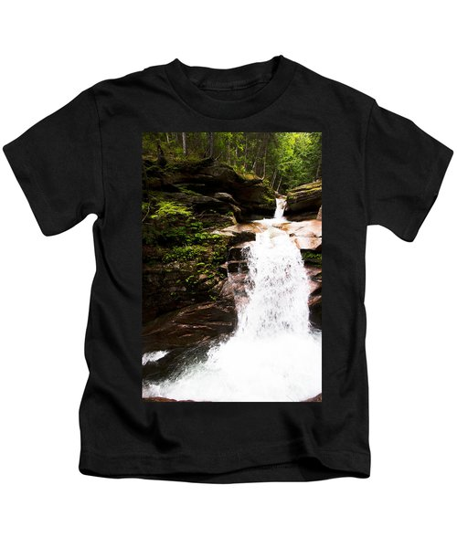 New Hampshire Waterfall Kids T-Shirt