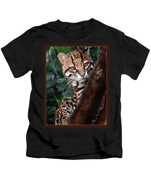 Ocelot Lookout Kids T-Shirt