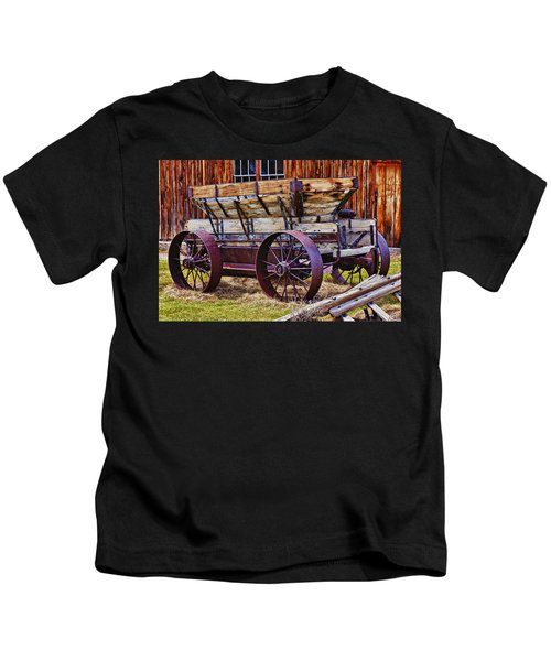 Old Wagon Bodie Ghost Town Kids T-Shirt