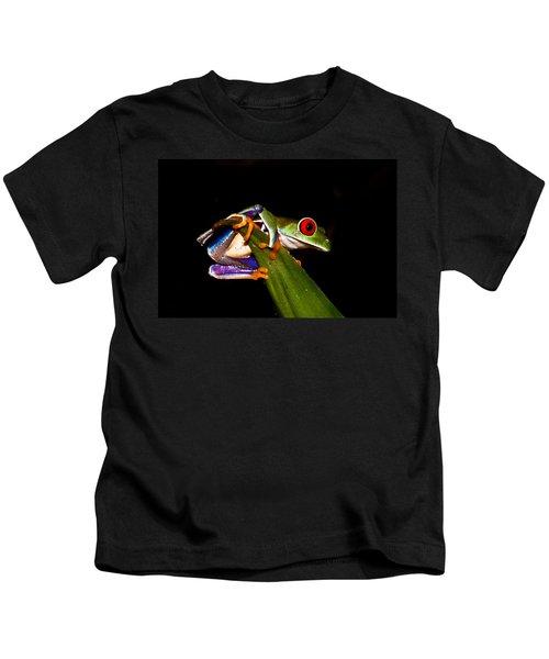One Two Three Jump Kids T-Shirt