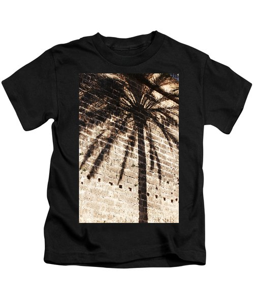 Palm Shadow Kids T-Shirt
