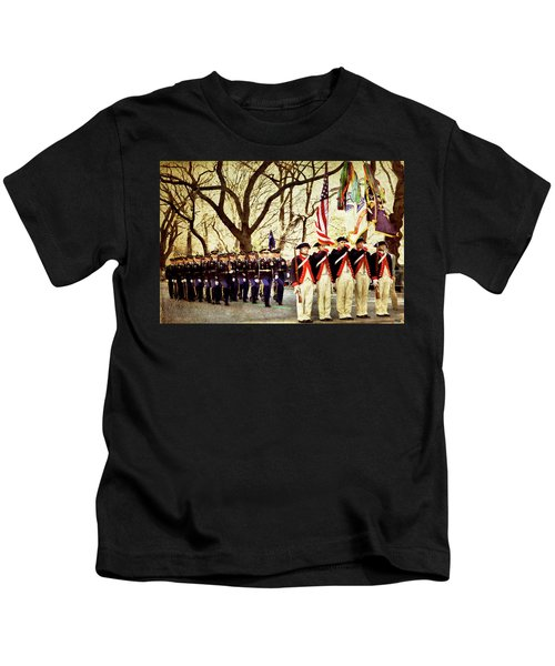 Parading On Fifth Kids T-Shirt