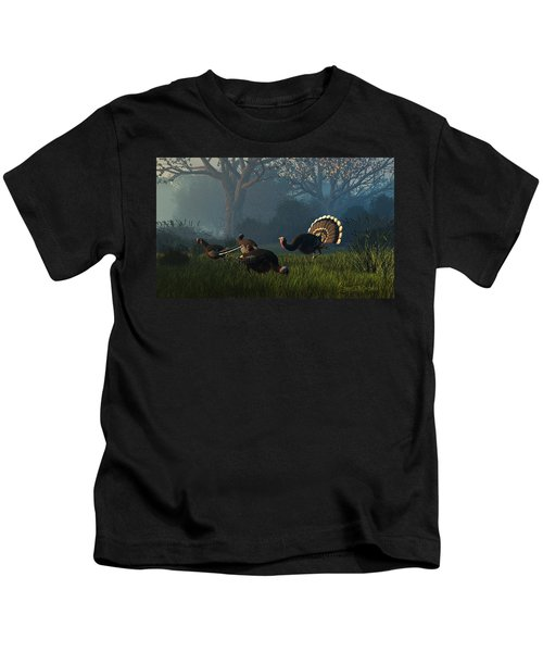 Party Of Four Kids T-Shirt