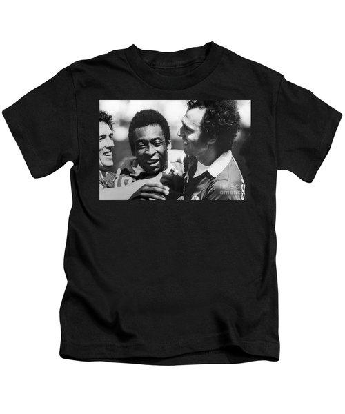 Pele & Beckenbauer, C1977 Kids T-Shirt by Granger