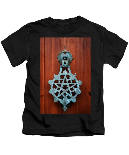 Pentagram Knocker Kids T-Shirt
