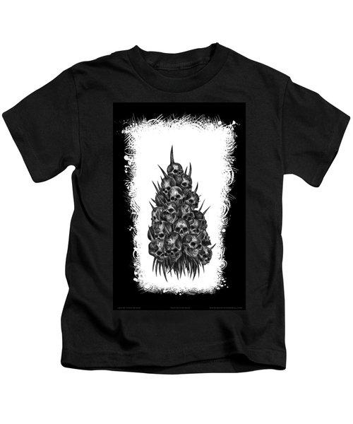 Pile Of Skulls Kids T-Shirt