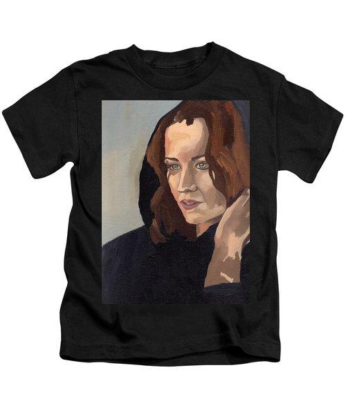 Portrait Of Becca 2 Kids T-Shirt