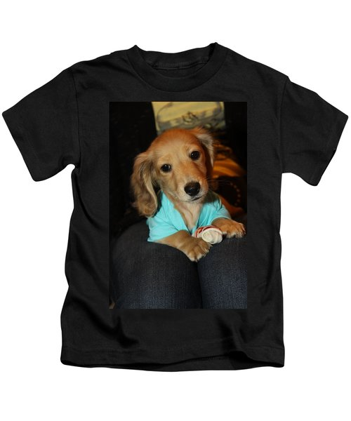 Precious Puppy Kids T-Shirt