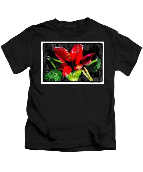 Red Leaves Kids T-Shirt