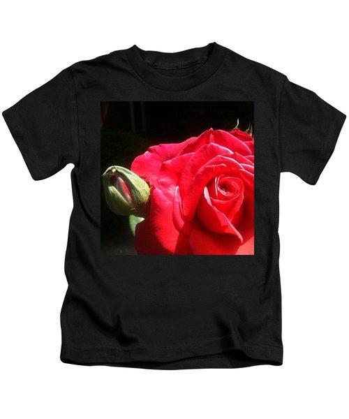 Red Red Rose Kids T-Shirt