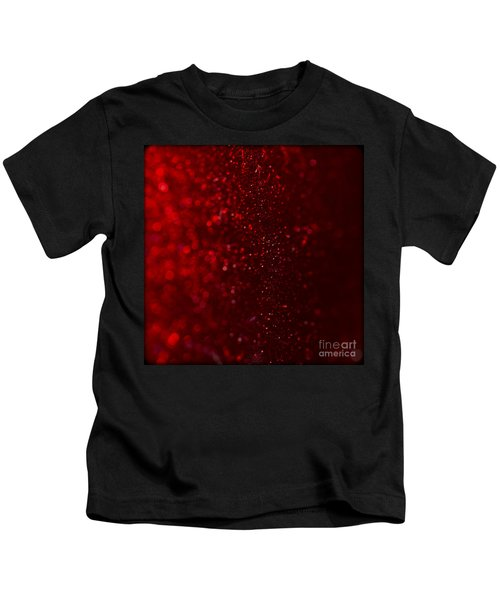 Red Sparkle Kids T-Shirt