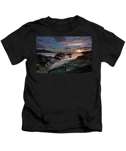 Rhosneigr Sunset  Kids T-Shirt
