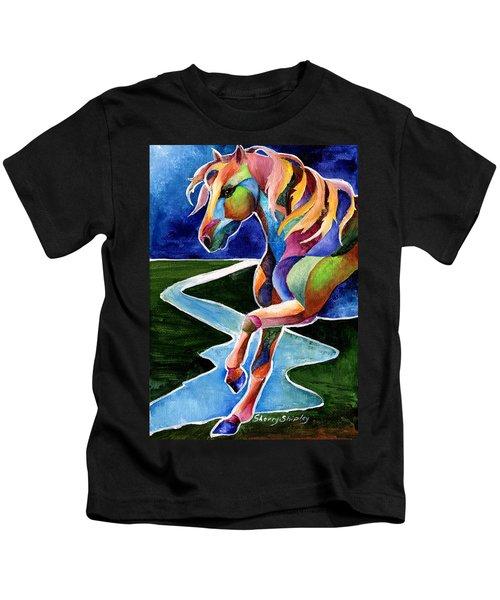 River Dance 2 Kids T-Shirt