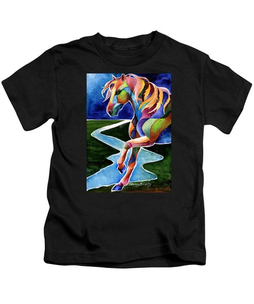 River Dance 2 Kids T-Shirt