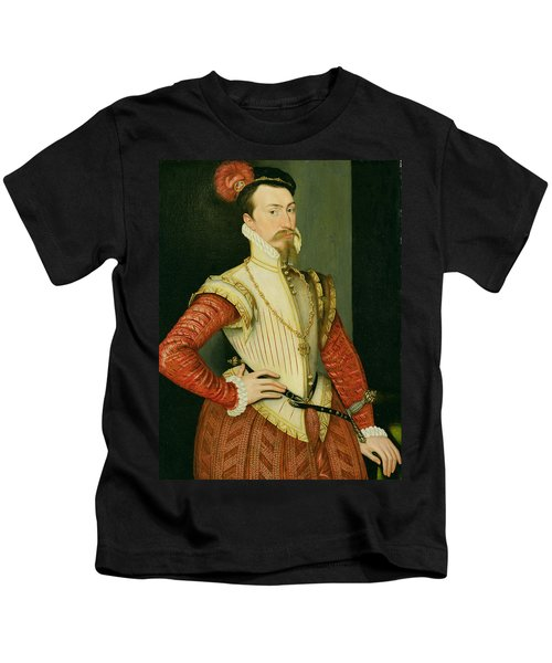 Robert Dudley - 1st Earl Of Leicester Kids T-Shirt