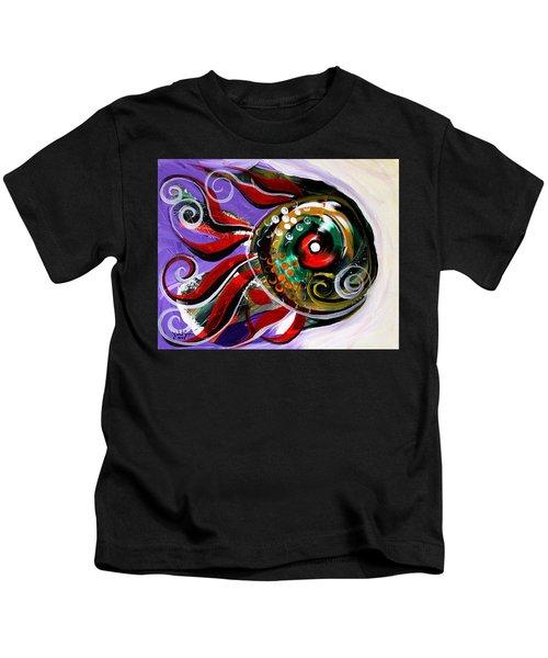 Salvador Dali Octo Fish Kids T-Shirt