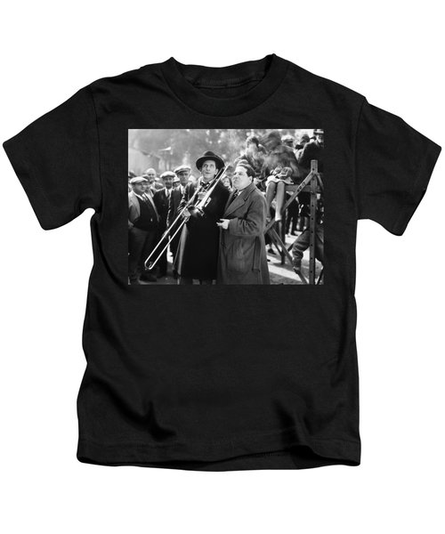 Silent Still: Musicians Kids T-Shirt by Granger