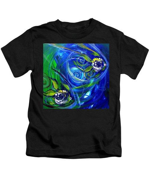 Six Subtle Ups And Downs 3 Kids T-Shirt