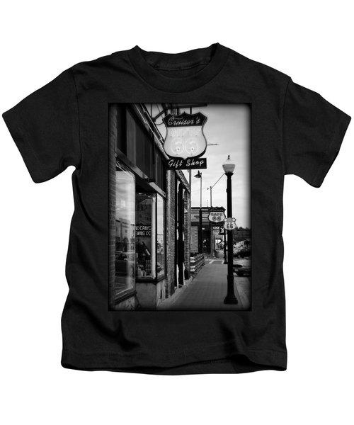 Small Town Shops Kids T-Shirt