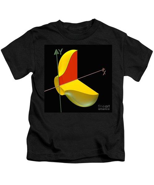 Solid Of Revolution 1 Kids T-Shirt