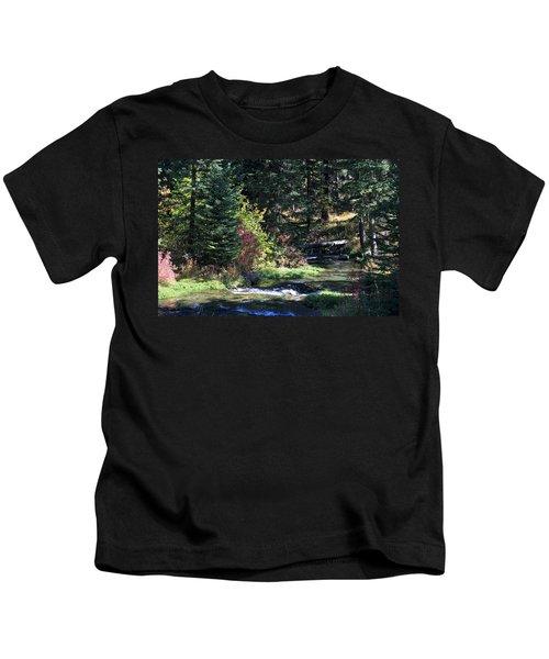 Spearfish Canyon Kids T-Shirt