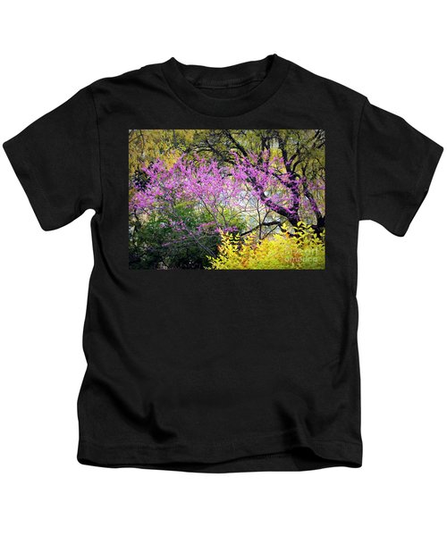 Spring Trees In San Antonio Kids T-Shirt