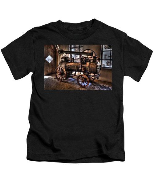 Steam Engine Kids T-Shirt