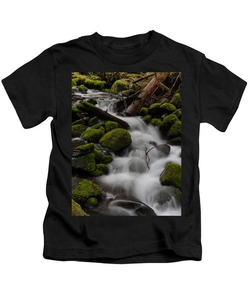 Stepping Stones Kids T-Shirt by Mike Reid