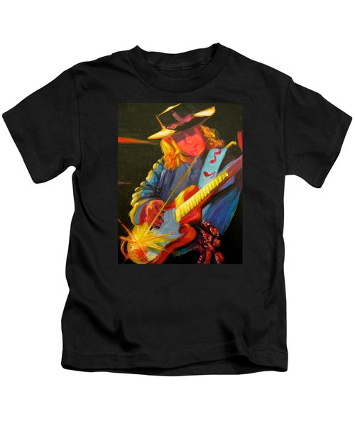 Stevie Ray Vaughn Kids T-Shirt