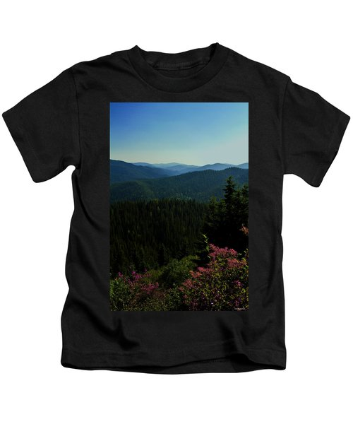 Summer In The Mountains Kids T-Shirt
