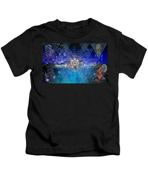 Synesthetic Dreamscape Kids T-Shirt