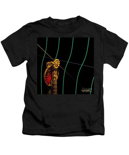Tangent Graph Math Engine Kids T-Shirt