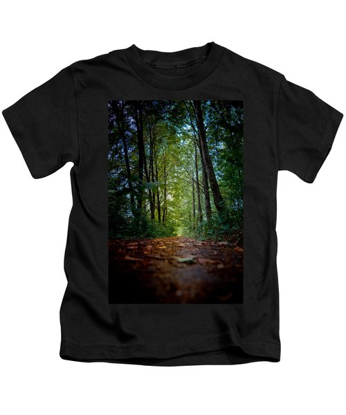 The Pathway In The Forest Kids T-Shirt