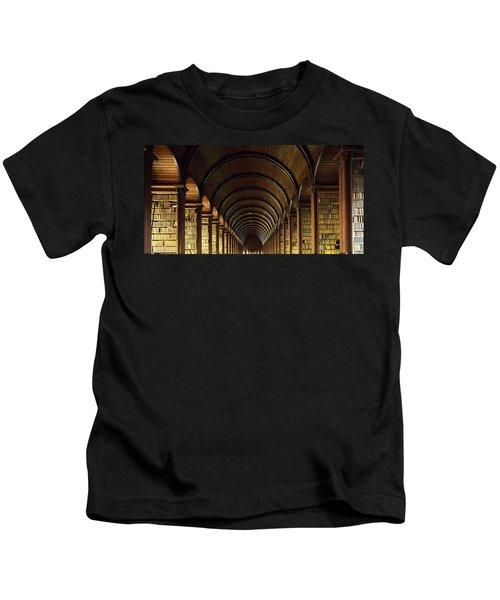 Thomas Burgh Library, Trinity College Kids T-Shirt