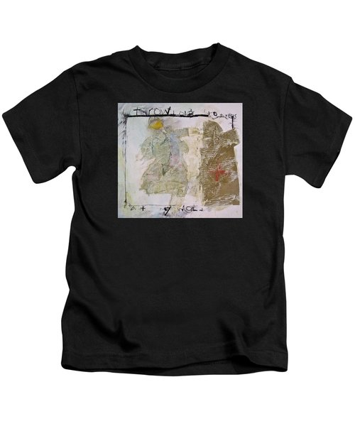 Throwing Stones At My World Kids T-Shirt