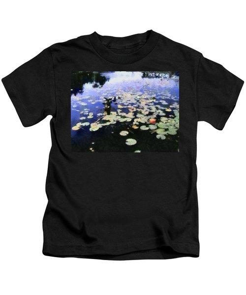 Torch River Water Lilies 3.0 Kids T-Shirt