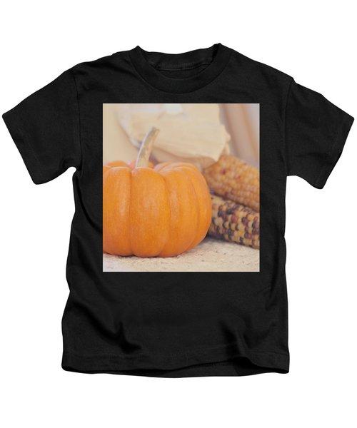 Vintage Autumn Harvest  Kids T-Shirt