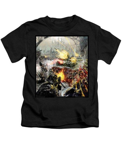 Wars Are Designed To Destroy  Kids T-Shirt