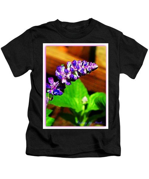 Water Drops Kids T-Shirt