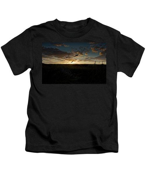 Wheat Fields  Kids T-Shirt