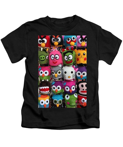 Whimsical Beanies - 5d18008 Kids T-Shirt