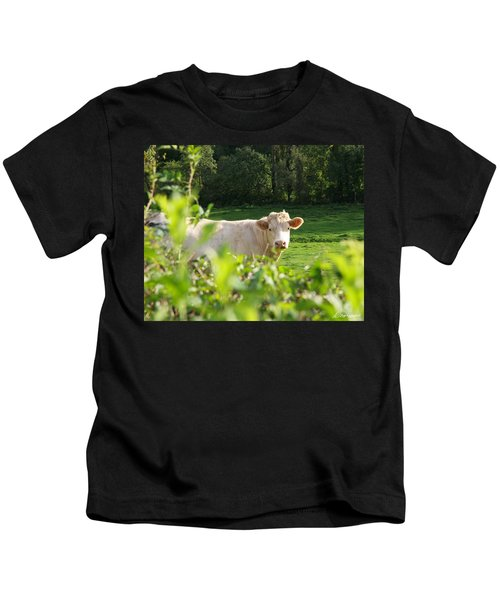 White Cow Kids T-Shirt